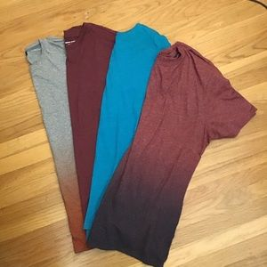 Banana Republic t shirts (4) XL gently worn